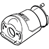 2 - Lister Laser Clipper Gearbox Assembly (inc 6 & 7) - 258-32070