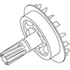 4 - Lister Star Assembly of Parts 5-10 - 258-33750
