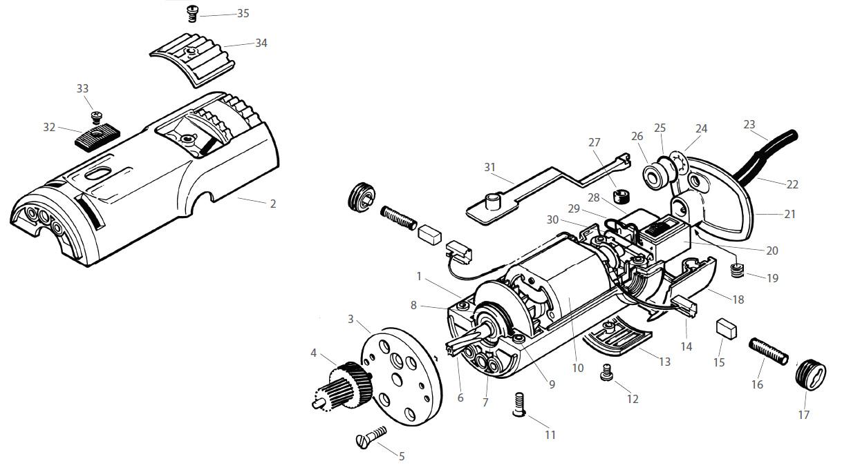 lister laser 1    2 clipper spares