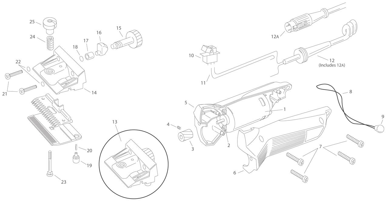 Lister Liberty Spares Engine Diagram